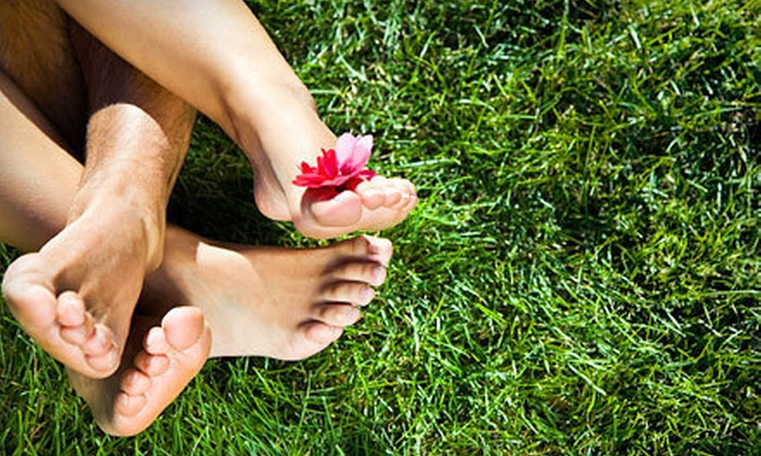 Dermaesthetics - West Bench: Laser Nail-Fungus-Removal Treatment for One or Both Feet at Dermaesthetics (Up to 70% Off)