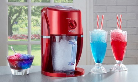 Cooks Professional Electric Ice Slushy Machine With Stirrer