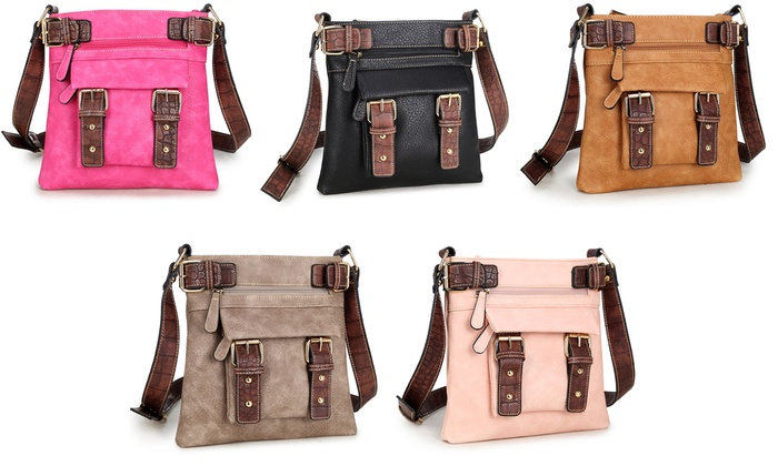 MK. Belted Collection by Michelle Karen Crossbody Handbag