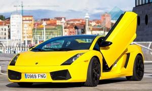 Motos de Agua Poniente: Ruta de 15, 20 o 30 km por carretera en Lamborghini desde69 €con Motos de Agua Poniente
