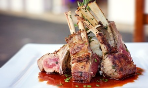 California Cuisine for Two or More at Ivory Restaurant & Lounge (Up to 50% Off). Two Options Available.