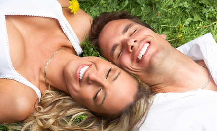 Dental Cleaning with an Exam, X-rays, Polishing Shine, and Option for a Crown at EnvySmile Dental Spa (Up to 92% Off)