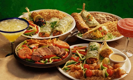 Mexican Dinner for Two or Four or Mexican Food for Takeout at Margaritas Mexican Restaurant (Up to 40% Off)