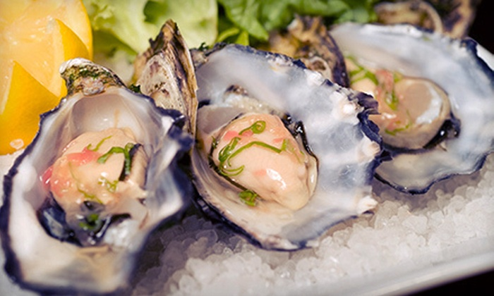 The Ice House Cafe - Herndon: Fusion Cuisine and Raw Oysters at The Ice House Cafe in Herndon (Up to 55% Off). Three Options Available.