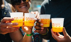 Taste of DC's Taste on Wheels: General Admission or Bottomless Drinks Ticket to Taste on Wheels Festival on Sunday, July 31 (Up to 40% Off)