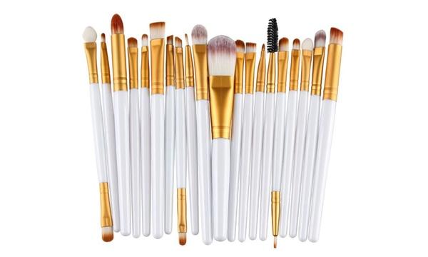 20 Piece Eye Makeup Brush Sets