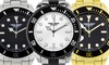 Deporte Cantoni Men's Watch with Tachymeter Bezel: Deporte Cantoni Men's Watch with Tachymeter Bezel