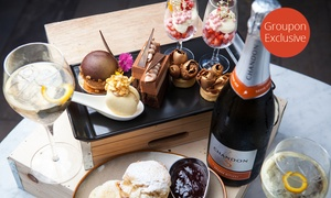 Cliffords Grill and Lounge: Sparkling High Tea for Two (from $59) or Four (from $59) at Clifford's Grill and Lounge (Up to $188 Value)