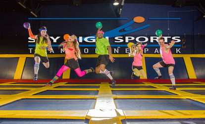 image placeholder image for two hours of jump time at sky high sports 45 off