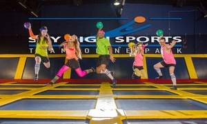 50% Off Trampolining at Sky High Sports at Sky High Sports, plus 6.0% Cash Back from Ebates.