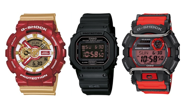 Groupon Goods: From $79 for a G-Shock Men's Digital Watch (Don't Pay up to $349)