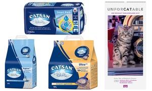 2x kattenbakvulling van Catsan met kattenkalender