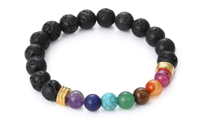 7 Chakra Mala Bracelet With Genuine