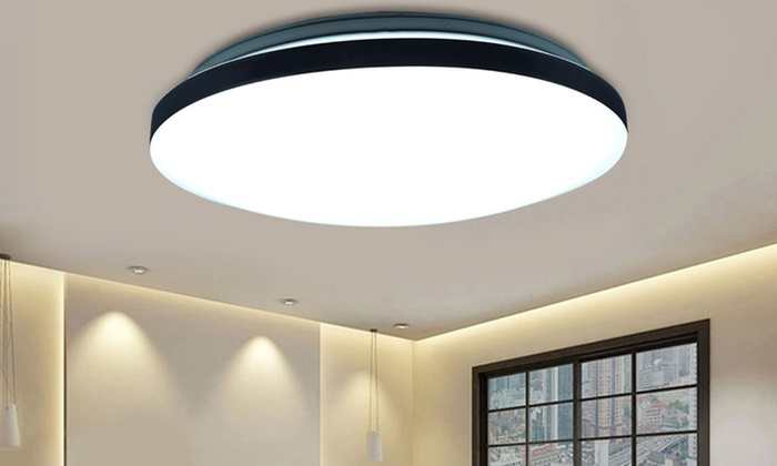 Plafoniere Grandi Da Soffitto : Plafoniera da soffitto led 24w groupon