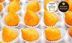 Festa Mania: Festa Mania – Pechincha: 200 ou 300 minissalgados fritos pronto para consumo