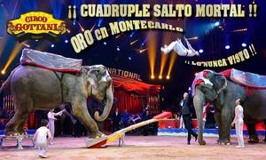 El Circo Gottani: 1 entrada al Circo Gottani del 19 al 28 de enero desde 6,95 € en Villa de Vallecas Madrid