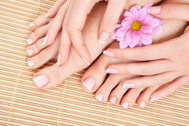 Hairworks Salon and Day Spa with Elizabeth: $28 for $55 Worth of Mani-Pedi — Hairworks Salon and Day Spa with Elizabeth