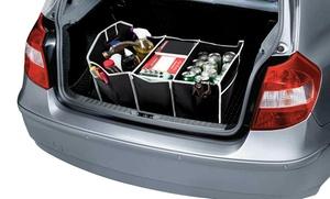 Folding Car Trunk Organizer with Cooler