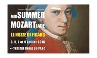 1 place en Cat 1 pour Le Nozze di Figaro au Théatre Royal du Parc (plusieurs dates) dès 34.99€
