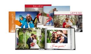 Printerpix: Hardcover-Fotobuch quadratisch 20 x 20 cm oder im Din-A4-Format bei Printerpix (bis zu 84% sparen*)