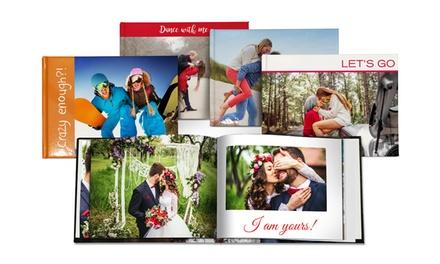 Fotolibro personalizzato copertina rigida A5 o A4 da 20, 40, 60 o 100 pagine offerto da Printerpix (sconto fino a 93%)