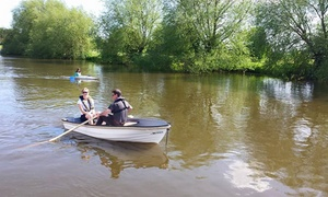 AV Boats: Rowing Boat Hire: Two Hours, Four Hours or One Day by AV Boats (Up to 75% Off)