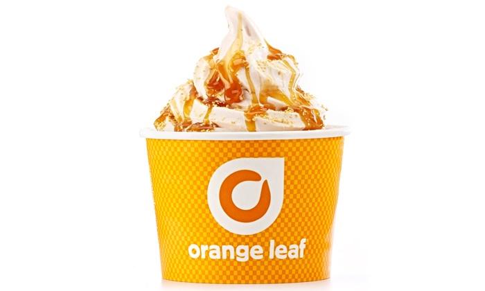 Orange Leaf Frozen Yogurt - Central Oklahoma City: $16.50for Three Groupons, EachWorth $10 TowardFrozen Yogurt at Orange Leaf Frozen Yogurt