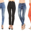 Red Jeans Women's Denim Skinny Jeans