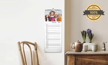 1, 2, 3, 4 ó 5 calendarios de pared de cocina en tamaño a elegir con Printerpix (hasta 79% de descuento)