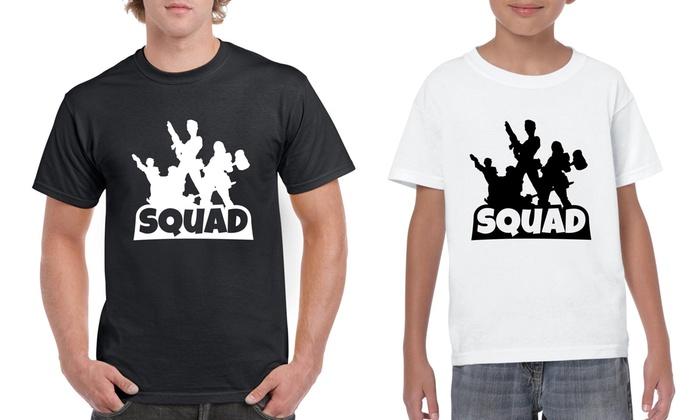 c00cb7f4a Fortnite Matching T-Shirts | Groupon