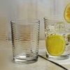 Circleware Theory 13 Oz. Drinking Glasses (Set of 4)