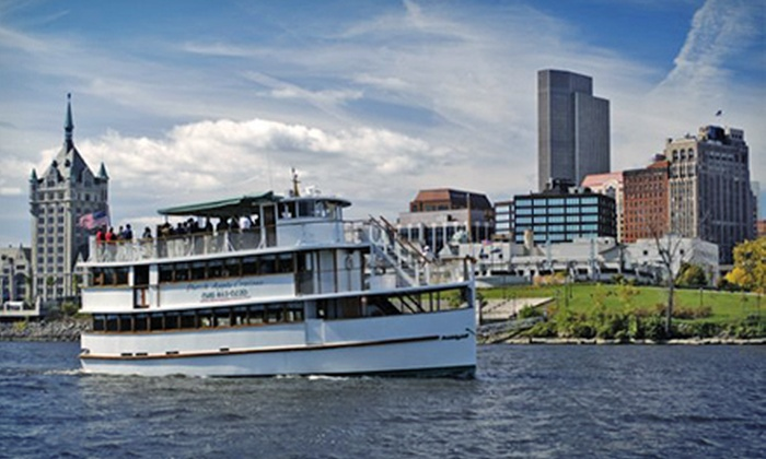 Dutch Apple Cruises - Albany: $25 for a Hudson River Sightseeing Cruise for Two with Drinks from Dutch Apple Cruises (Up to $44.90 Value)