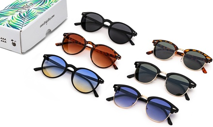 Tris occhiali da sole Twig Concept Milano disponibili in vari modelli e colori