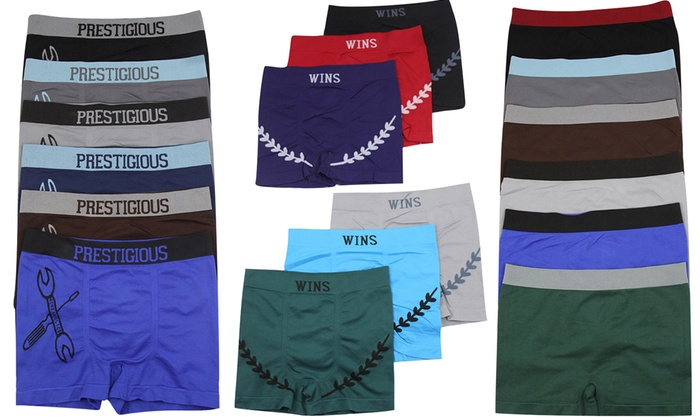 Men's Boxer Briefs (6-Pack)
