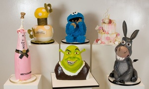 3D Cakes: 2.5 hour or Full Day Cake Masterclass for One or Two at 3D Cakes (Up to 80% Off)