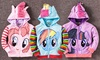 ZAgifts.com: One, Two or Three Girls' Unicorn Hoodies from AED 69