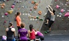 The Hive - Multiple Locations: Intro To Boulder Plus Yoga Sampler for One or Two at The Hive (Up to 64% Off)