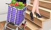 Foldable Shopping Trolley Cart