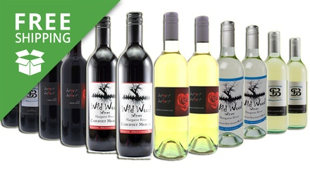 Free Shipping: $75 for a 12Bottle Margaret River Red, White or Mixed Wine Case Don't Pay $169