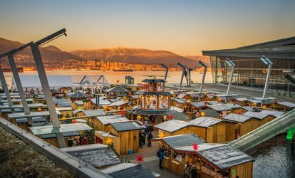 image for Admission for Two Adults at Vancouver Christmas Market (Up to 31% Off). Three Options Available.
