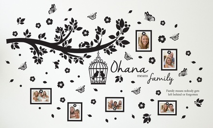 Ohana Family Tree Photo Frame