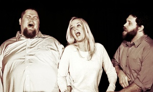 ImprovBroadway Saturday Night Shows: Improv Broadway Improv Comedy Show at Brigham Larson Pianos on Saturdays, April 18–October 17 (Up to 40% Off)