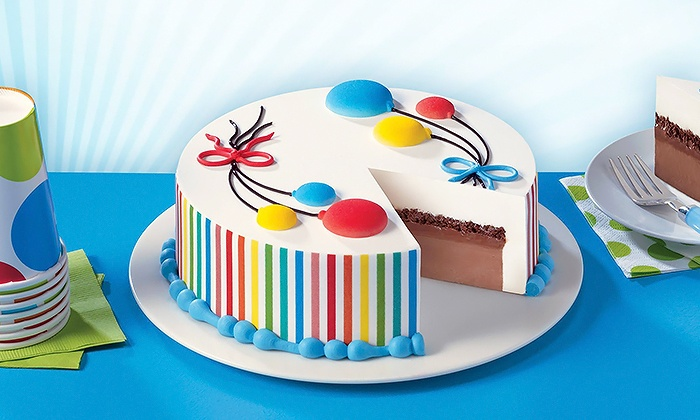 Swell Regular Or Blizzard Cakes Dairy Queen Groupon Funny Birthday Cards Online Alyptdamsfinfo