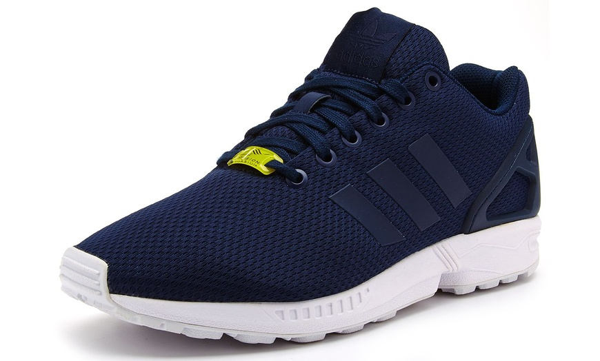 mens adidas flux trainers size 9