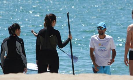1 hora de paddle surf para 1, 2 o 4 adultos o 2 horas de distintas disciplinas desde 11 € en Paddle Surf Fuengirola