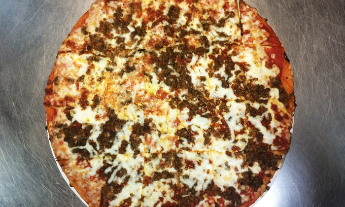 Cagney's Pizza King  - Shelbyville: Pizza at Cagney's Pizza King (Up to 40% Off). Two Options Available.