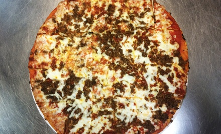 Pizza at Cagney's Pizza King (Up to 40% Off). Two Options Available.