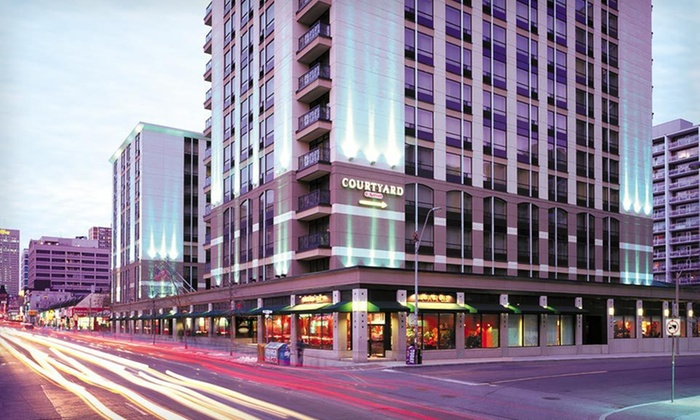 null - Toronto (GTA): Stay at Courtyard by Marriott Downtown Toronto in Toronto, ON