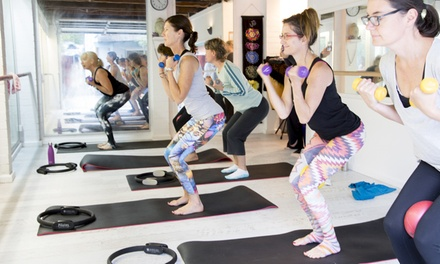5 ($19), 10 ($29) or 15 Classes of YogaPilates Fusion ($59) at Body and Balance, 4 Locations (Up to $290 Value)