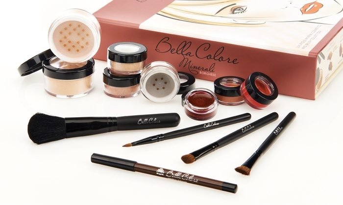 Borghese Bella Minerale 12-Piece Makeup Kit: Borghese Bella Minerale 12-Piece Makeup Starter Kit